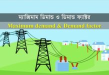 Maximum demand & Demand factor