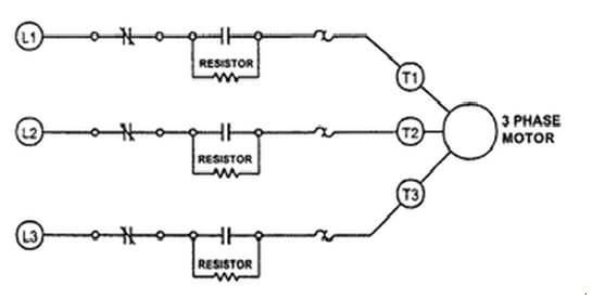 Series impedance starting