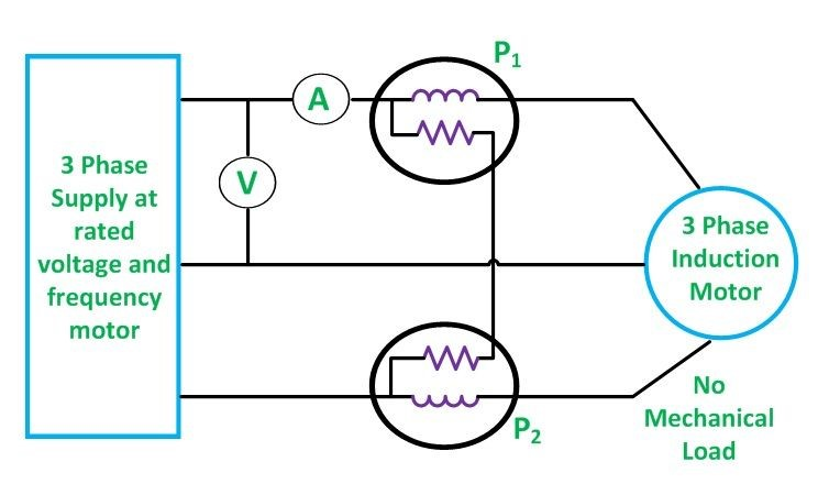 No-Load-Test-On-Induction-Motor