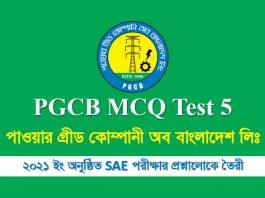 pgcb mcq test 5
